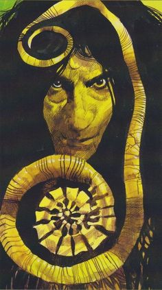 Sergio Toppi - Tarot of the Origins - Wheel of Fortune