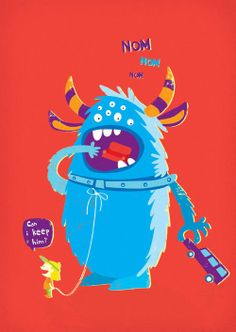richters:  Hungry Monster by Chloe Batchelor