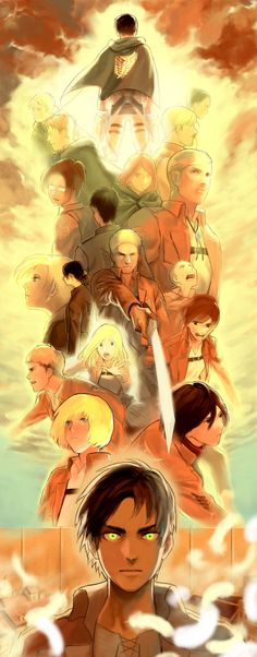 attack on titan - epic picture