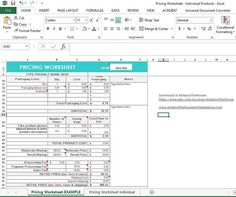 Pricing Calculator shop management Tool Etsy by AllAboutTheHouse