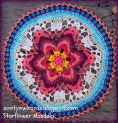 mandala crochet Tutorial step by step  ✿⊱╮Teresa Restegui http://www.pinterest.com/teretegui/✿⊱╮