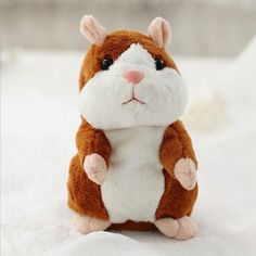 3 Colors Funny Talking Hamster Educational Plush Toy For Kids & Baby