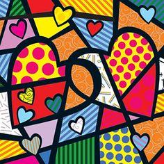 Papel Arte Francesa 30x30 C/10 #EN90108 Pintura Graffiti, Graffiti Painting, Graffiti Art, Valentines Art Lessons, Roy Lichtenstein Pop Art, Pop Art Fashion, Pop Art Wallpaper, Diy Canvas Art, Heart Art