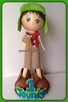 El Chavo Del Ocho Or Chilindrina Fofucha Doll  #ELCHAVO #LaChilindrina #Birthday