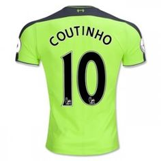 16-17 Liverpool Football Shirt Third COUTINHO Cheap Jersey [G00876]