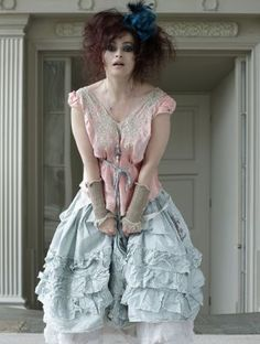 Helena Bonham Carter! LOVE THISSS <333 that outfit, the hair, her... :) <3<3