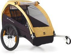 The Burley Bee bike trailer is simple, durable and dependable. Seats 1 or 2 children and comes ready to bike. #REIGifts