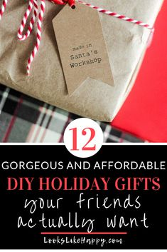 12 DIY Holiday Gifts