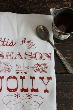 Hey, I found this really awesome Etsy listing at https://www.etsy.com/listing/114936360/christmas-kitchen-towesl-1-flour-sack