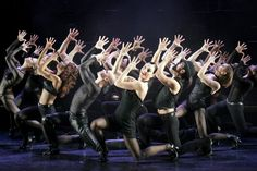 """Chicago's cast performing """"All That Jazz"""" 