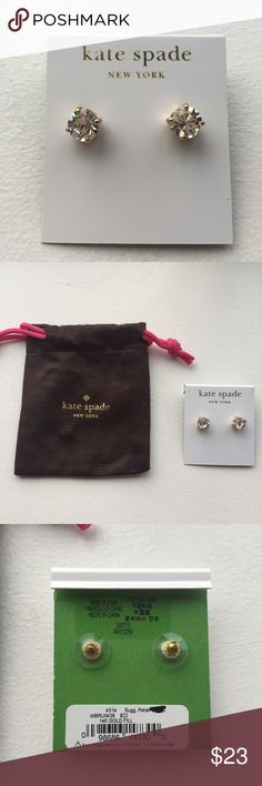 Spotted while shopping on Poshmark: Kate Spade NWT Gumdrop Studs! #poshmark #fashion #shopping #style #kate spade #Jewelry