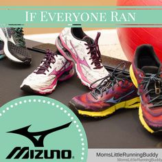 A Year Of Brilliant Runs: Mizuno Running Shoe Giveaway| Moms Little Running Buddy