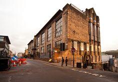glasgow school of art, charles rennie mackintosh - north west view, glasgow architects