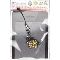 Pokemon Center 2012 Game Dot Charm Pignite Mobile Phone Strap