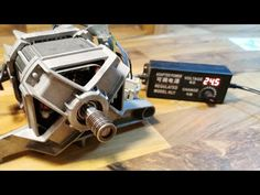 How to Wiring Universal Washing machine motor to DC - YouTube