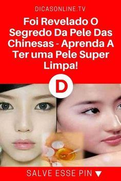 Máscara para limpeza de pele | Foi Revelado O Segredo Da Pele Das Chinesas - Aprenda A Ter uma Pele Super Limpa! | Com um ingrediente que todos temos em casa!