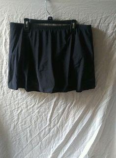 NEW Miraclesuit Size 16 Black Swim Skirt Skirtini Bottoms $72 NWT | Clothing, Shoes & Accessories, Women's Clothing, Swimwear | eBay!