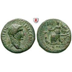 Römische Provinzialprägungen, Seleukis und Pieria, Gabala, Traianus, Bronze Jahr 152 = 106-107, ss+: Traianus 98-117. Bronze 22 mm… #coins