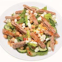 Greek Chopped Pita Salad - Fitnessmagazine.com