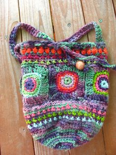 Ravelry: Feelin' Groovy Purse pattern by Mary LeRoy
