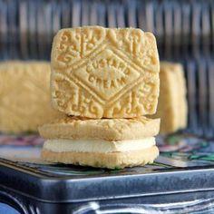 Custard Cream Recipe, Custard Recipes, Cream Recipes, Gluten Free Biscuits, Gluten Free Cookies, Gluten Free Recipes, Vegan Recipes, British Biscuit Recipes, British Biscuits