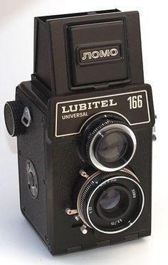 GOMZ: Lubitel 166 Universal camera