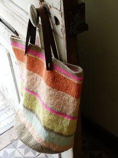 tunisian bag: