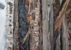 John Pearson Painting: Bottom of the Pile