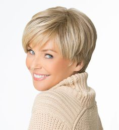Bundle up with a great hair style as the winter comes with Christie Brinkley's Uptown wig by Hair2wear