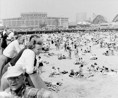 Coney Island, Brooklyn, Photo Wall, Louvre, Building, Travel, Photograph, Viajes, Buildings