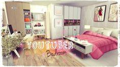 Dinha Gamer: Youtuber Bedroom • Sims 4 Downloads
