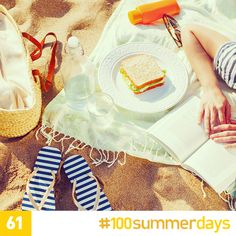 All you need to pack for a family day trip to the beach in one easy list. #100SummerDays