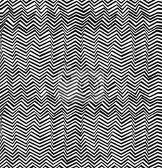 Sticker Seamless modèle abstrait noir et blanc
