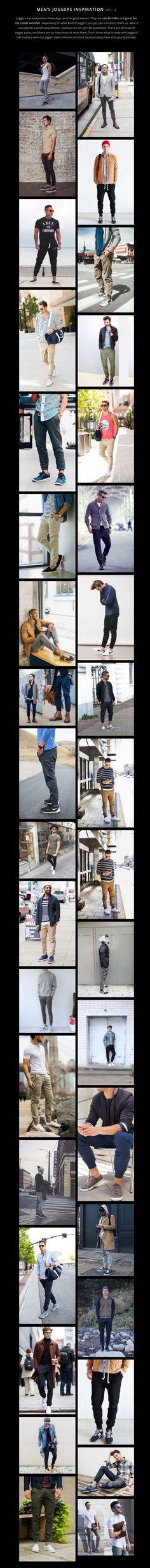 Men's Joggers Inspiration vol. 2