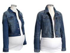Old-navy Denim Jacket for your pregnancy.