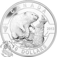 Coin Gallery London Store - Canada: 2013 $10 The Beaver O Canada Series 1/2 oz Pure Silver Coin, $39.95 (http://www.coingallerylondon.com/canada-2013-10-the-beaver-o-canada-series-1-2-oz-pure-silver-coin/)