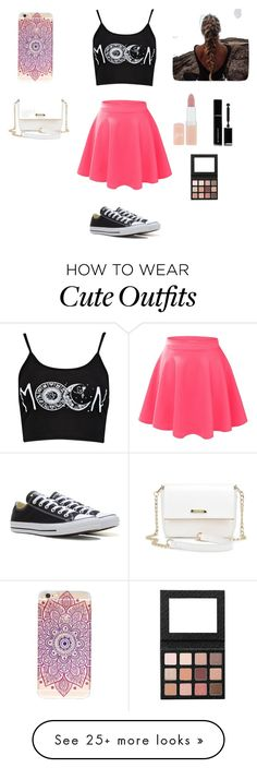 """Cute outfit"" by stuff4m on Polyvore featuring LE3NO, Converse, Rimmel and Givenchy"