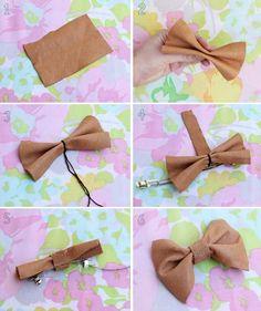 Art DIY hair bow diy-or-die.... gonna make SOOOOO many :)