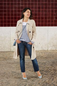 I love Fita Métrica: Back to Trench coat!