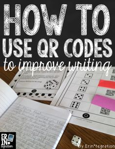4 ways for using QR codes to support students during writing workshop or to help students write reading responses. Free resources available at the link.