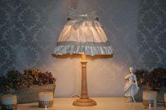 lampe marie Antoinette.  - lampe de table - D'Ombres et de Lumière - Fait Maison