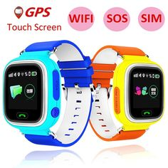 Child GPS Smart Watch Q90 With Wifi Touch Screen  Price: 37.16 & FREE Shipping   #band #tracker #activity Smart Watch, Fashion Children, Student Voice, Kids Smart, Emergency Call, Location Finder, Children's Watches, Simple Cartoon, Q50