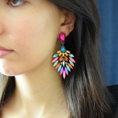 Izadora Earrings – Azzure Jewelry
