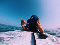 surf   summer   paddleboard   baseball cap   ocean   sea   travel
