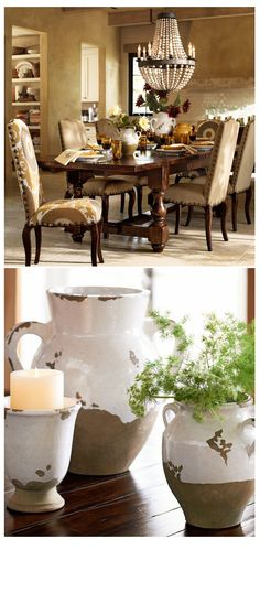 Large Tuscan Urn | Pottery Barn #Home #Rustic #Decor | Home