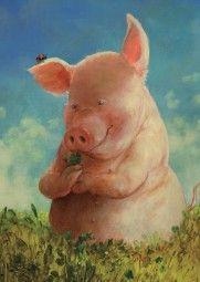 🏮🐲 Celebrate Lunar New Year! Farm Animals, Funny Animals, Cute Animals, This Little Piggy, Little Pigs, Pig Drawing, Pig Illustration, Pig Art, Cute Piggies