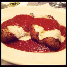 Maggiano's chicken Parmesan oH YUM!