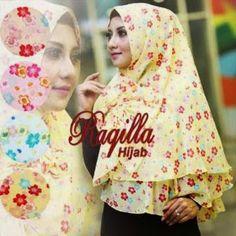 Khimar Jasmin Ori Raqilla Hijab Harga 55.000 Minimal pembelian 5 pcs Seri Bahan Ceruti