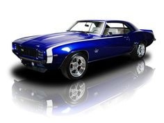 1969 Chevrolet Camaro RS/SS ZZ4 4-Speed 12 Bolt in Viper Blue