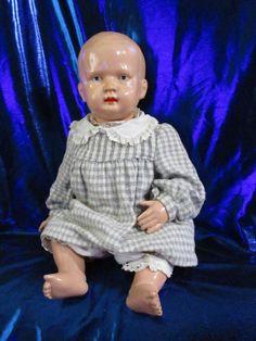 Alte schöne Schildkröt Puppe 20iger Jahre 40 cm Sitzpo Celluloid Besonderheit | eBay